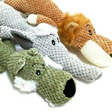 Pet Dog Puppy Chew Plush Toy Squeakers Squeaky Soft Animal Play Toys Sound Gift