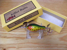 Beautiful Killer Baits Rusty Jessee Glasseye Fatso Lure in Red Eyed Trout Color