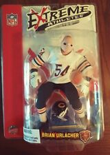 NFL Extreme Athletes Brian Urlacher Chicago Bears  White Jersey BY MEZCO