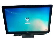 "H P 27"" Full HD 1080P LCD Monitor Black Model 2709m"