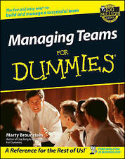 Managing Teams for Dummies, Paperback by Brounstein, Marty