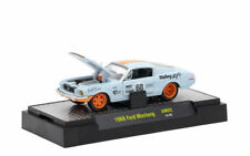 M2 Machines Auto-Mods Release AM02 1:64 1968 Ford Mustang Light Blue 14-58