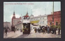 Lancashire Lancs LIVERPOOL Ranleigh St used 1909 PPC rather crude production