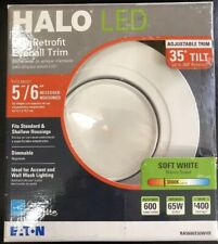Halo RA 5 in. and 6 in. White Integrated LED Recessed Ceiling Light Fixture