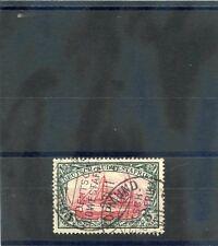 GERMAN SOUTH WEST AFRICA Sc 25(MI 23)VF USED 1901 5MK SLATE & CARM, BOTHE, $300