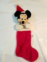 "Disneyland Mickey Mouse 18"" Christmas Stocking VINTAGE  #7"