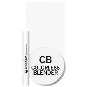 Chameleon Colourless Blender Pen - double ended - bullet - brush - FREE P&P