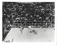 JACK DEMPSEY KO's GEORGES CARPENTIER 8X10 PHOTO BOXING PICTURE