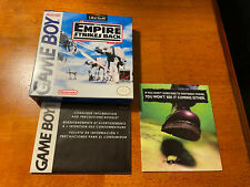 Nintendo Gameboy The Star Wars Empire Strikes Back Box Only With Info Booklet