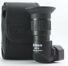 MINT Nikon DR-6 Right Angle Viewfinder x1x2 Viewing Attachment From JAPAN