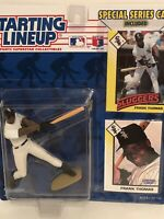 1993 starting lineup Frank Thomas Baseball figure card toy White Sox Auburn Hurt