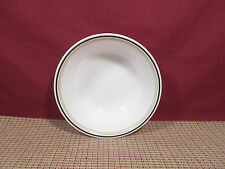 """Corning Corelle Black Orchid Cereal Bowl 6 1/4"""""""