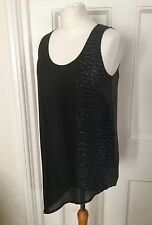 NUOVO Eileen Fisher Top U-NECK Shell