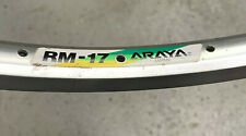 "Araya RM-17 26"" mountain bike rim 36 holes silver New Old Stock rim"