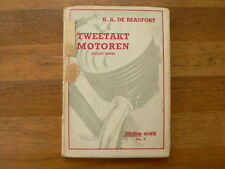 TWEETAKT MOTOREN H.A. DE BEAUFORT  MOTORBOEK NO 2  1946 ARIEL PANTHER,DKW,ZUNDAP