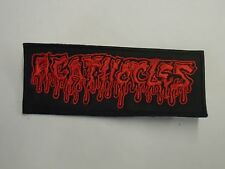 AGATHOCLES BRUTAL DEATH METAL EMBROIDERED PATCH