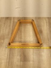 1 Vintage Wooden Tennis Racket Protectors Brace Press Frame Wilson