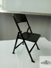 1:6 Family Scene Attachments Dr.FIGURES Black Color Folding Chair Without Body