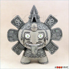 Kidrobot Dunny 2011 Azteca II 2 vinyl figure by Beast Brothers grey minigod