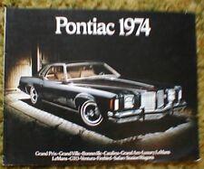 1974 Pontiac  FL Firebird Sales Brochure  74
