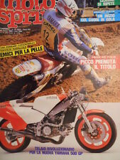 Motosprint 10 1983 Telaio Yamaha YZR 500 - Marco Lucchinelli  [SC.31]