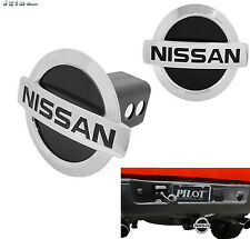 """LICENSED NISSAN LOGO BULLY 1.25"""" & 2"""" TRAILER TOWING HITCH RECEIVER COVER CR-690"""