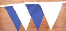 Tessuto colorato Bunting Blu & Bianco Matrimonio Festa Decorazione 2 M di o più regalo