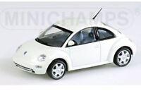 MINICHAMPS 430 054001 058005 VW CONCEPT & BEETLE model car 1994 & 1998 1:43rd