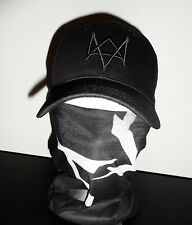 WATCH DOGS Tube MASK + CAP aiden pearce cosplay watchdogs Foulard + Casquette