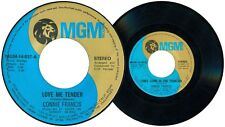 Philippines CONNIE FRANCIS Love Me Tender 45 rpm Record