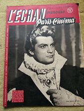 l'écran français paris cinema, n°121, 21 octobre 1947
