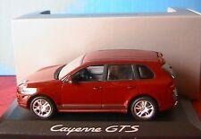 PORSCHE CAYENNE GTS RED METALLIC 2007 MINICHAMPS 1/43 ROUGE FONCE METAL ROT