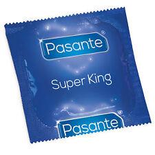 pasante Tamaño Super King Natural condones de Látex Extra Grande Ancho más 69mm