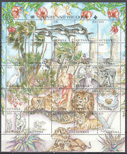 Guyana 1994 Biblie Stories - animals - butterflies - Mi.4823-47 - MNH (**)
