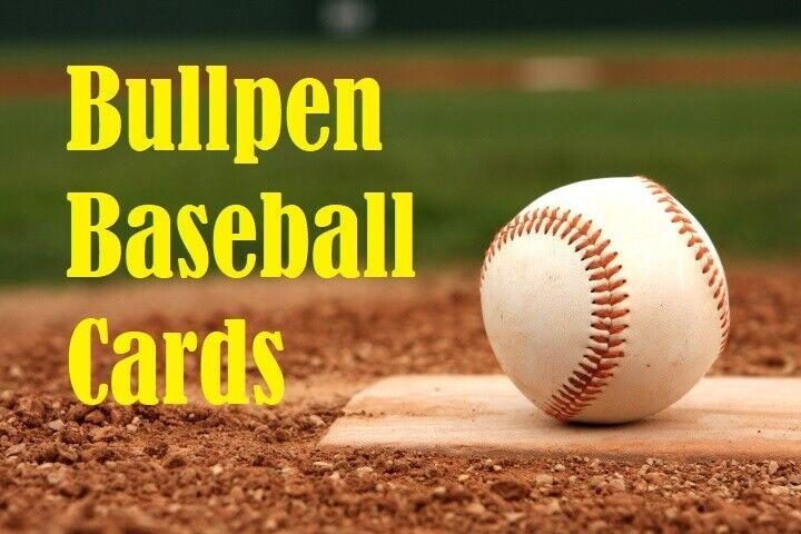 Bullpen Baseball Cards