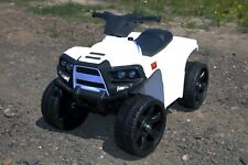 Kleines Mini Quad Kinderfahrzeug Elektrofahrzeug BJT912 WEIß