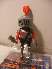 playmobil Chevalier Rouge inedit Knigth edition speciale QUICK FRANCE Neuf