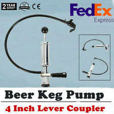 Heavy Duty D-System Beer Party Pump Picnic Keg Tap 4 Inch for Homebrew Us Stock