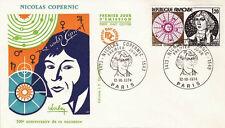 FRANCE FDC - 902 1818 2 NICOLAS COPERNIC 12 10 1974 - LUXE