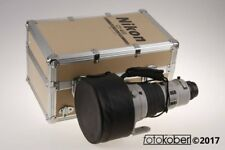 NIKON AF-S 400mm f/2,8 ED D - grau - SNr: 200211