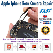 Apple iphone 5 5s 5c SE rear camera repair service