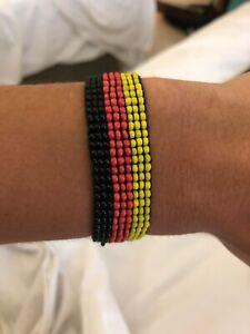 Deutschland Fanartikel Handgemachtes Perlenarmband