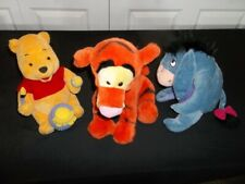 Winnie the Pooh, Tigger & Eyeore Plush toys