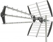 MERCURY 130.012 QUICK Assembly TRIPLE BOOM 40 Elemento Outdoor UHF ANTENNA TV NUOVO