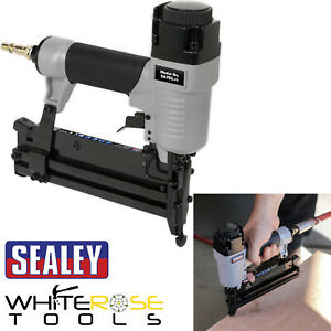Sealey Air Nail Staple Gun 18 Gauge 10-50mm Nailer 10-40mm Stapler