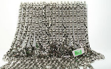 20 WHOLESALE LOT OF Black & Blue 8mm Stainless Machine Parts Chain Necklace 22""