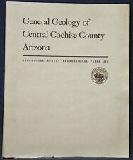 Usgs Central Cochise County Arizona - Geology Rare 1964 Complete with All Maps!