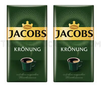 2 x JACOBS Kronung Ground Coffee 250g 8.8oz