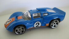 loose mint 2007 mystery car CHAPARRAL 2D   blue with orange