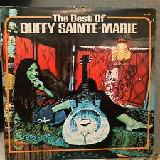 "BUFFY SAINTE-MARIE - The Best Of (Double Album) - 12"" Vinyl Record LP - EX"